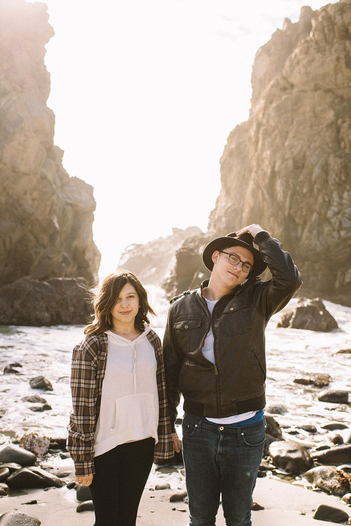 Big Sur Spontaneous Couple Session
