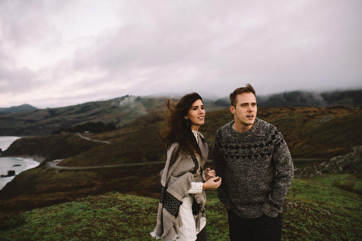 Elizabeth and Justin's Sunrise California Session