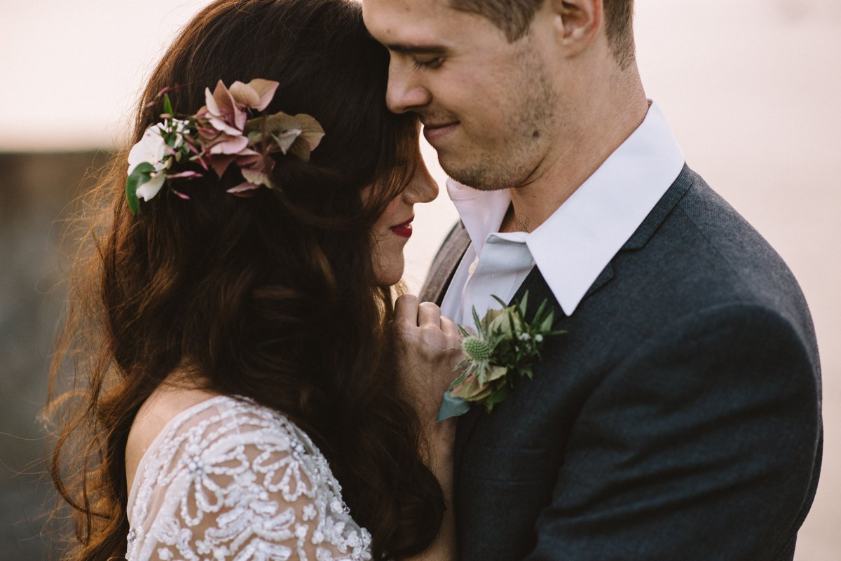 Romantic Styled Shoot in Jenner, California