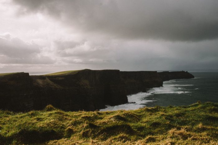 Cliffs of Moher And Irish Countryside