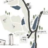 Landtscap and The Styling Shed Map
