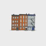 Greenwich Village Illustration