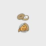 New York City Food Illustrations