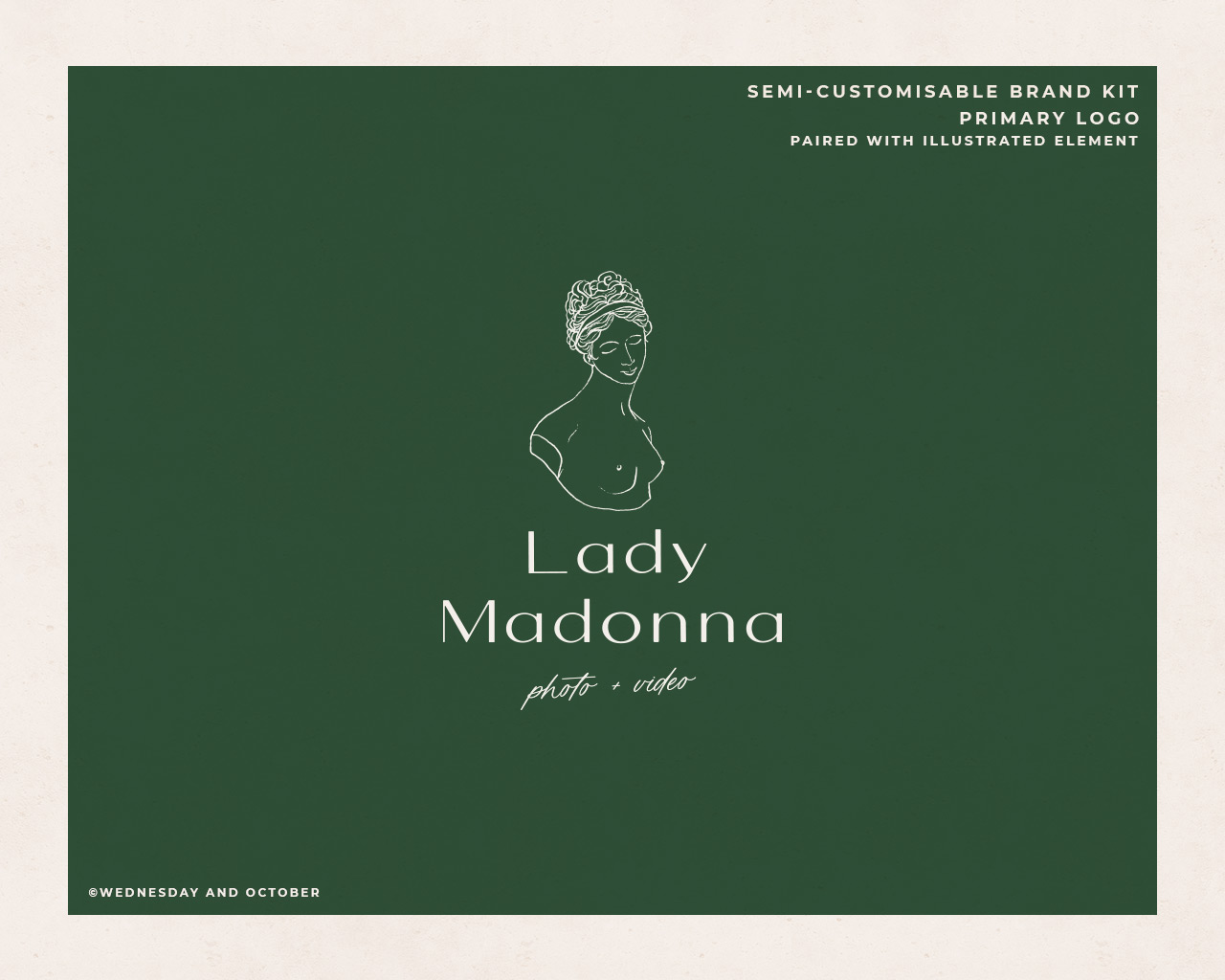 Ready-Made Brand Lady Madonna Brand Imagery