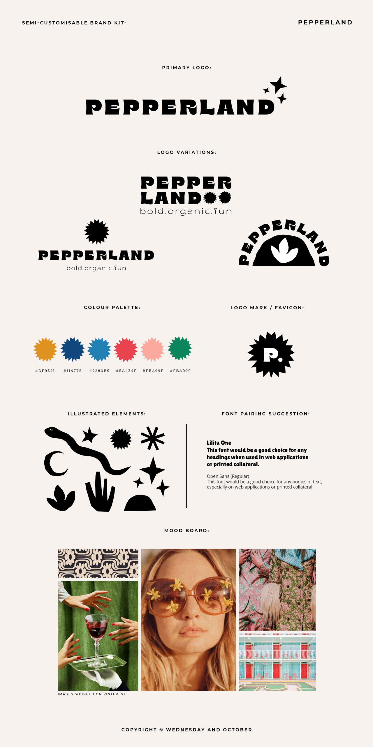Ready-Made Brand Pepperland Brand Guide