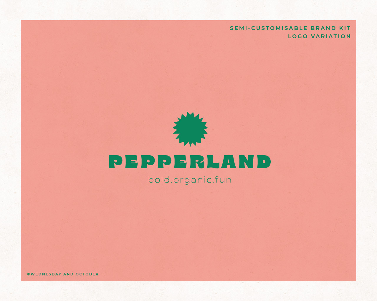 Ready-Made Brand Pepperland Brand Imagery