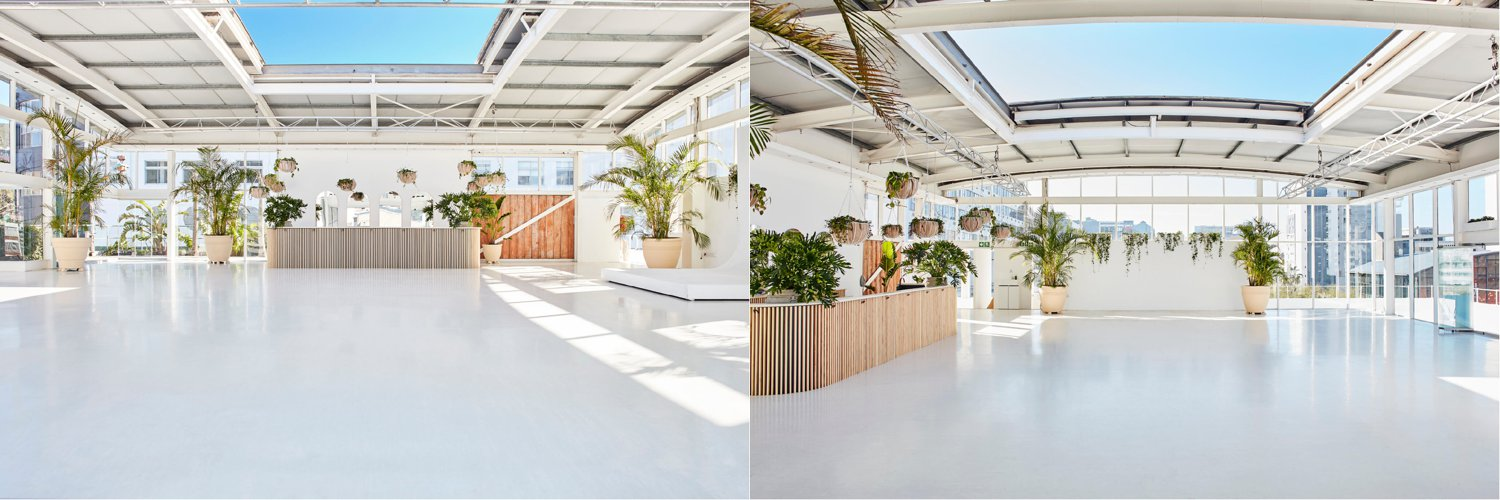 Rooftop on Bree Cape Town Venue Interior