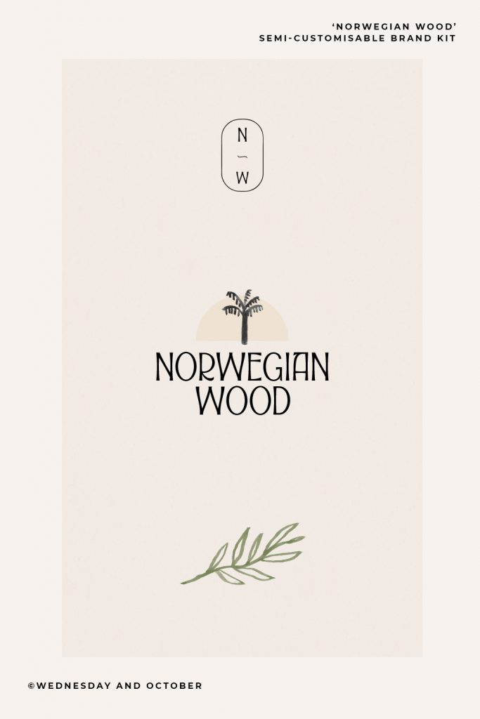 Customisable Brand Kit Norwegian Wood