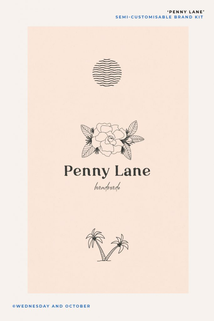 Penny Lane Customisable Brand Kit Cover