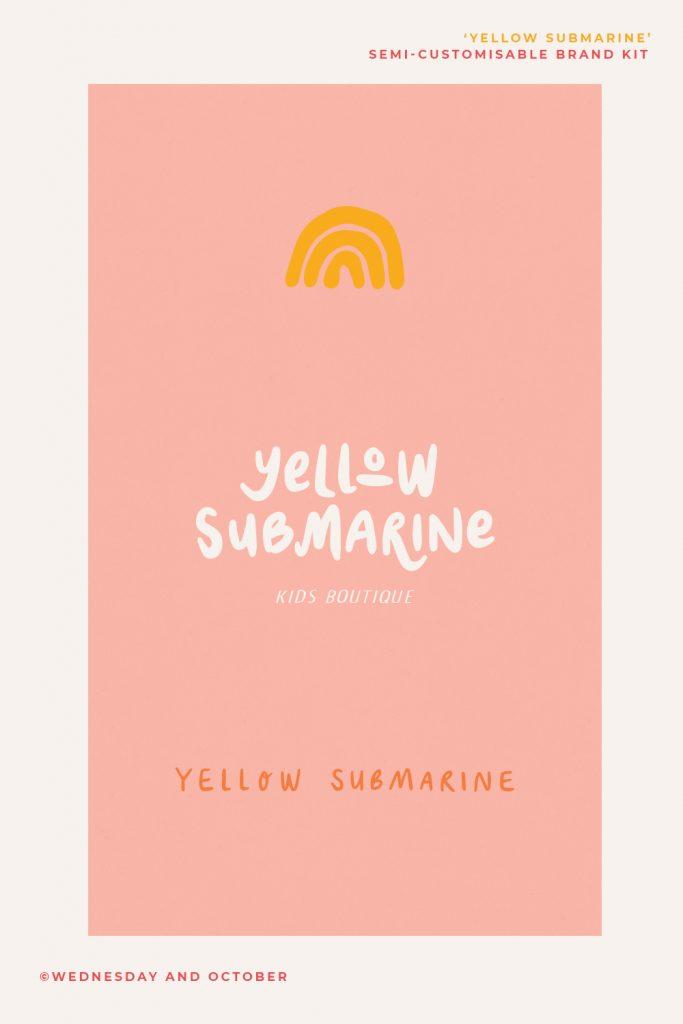 Customisable-Brand-Kit-Yellow-Submarine