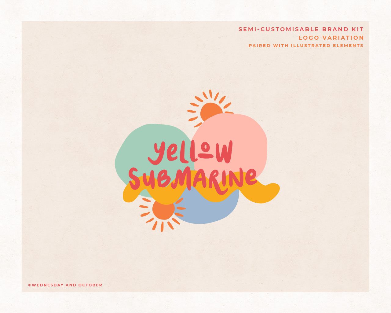 Customisable Brand Kit Yellow Submarine