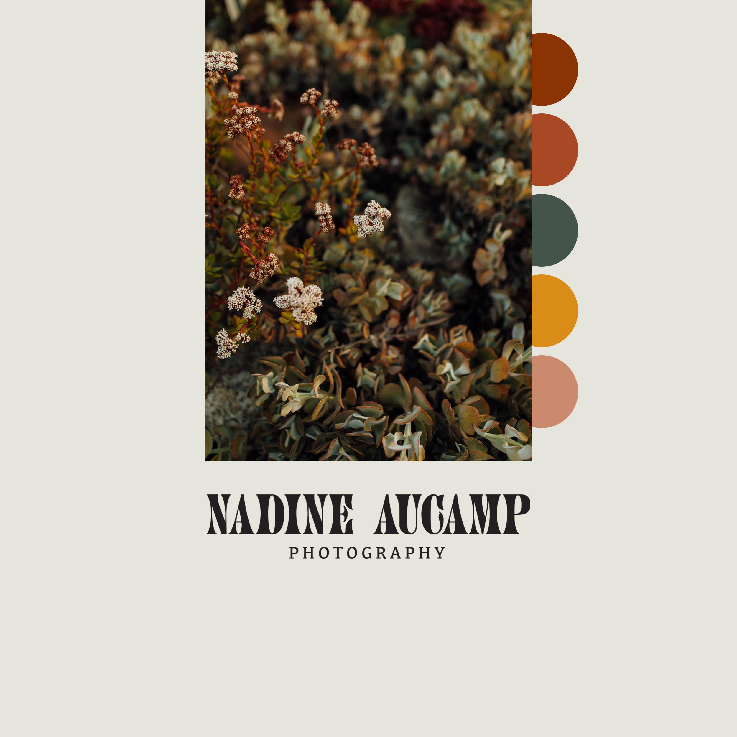 Nadine Aucamp Photography Brand Identity